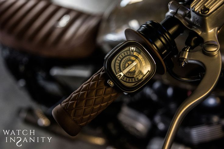 "SEVENFRIDAY ""M2-1"" & TPR ""DUE DI PICCHE Triumph Bonneville"""