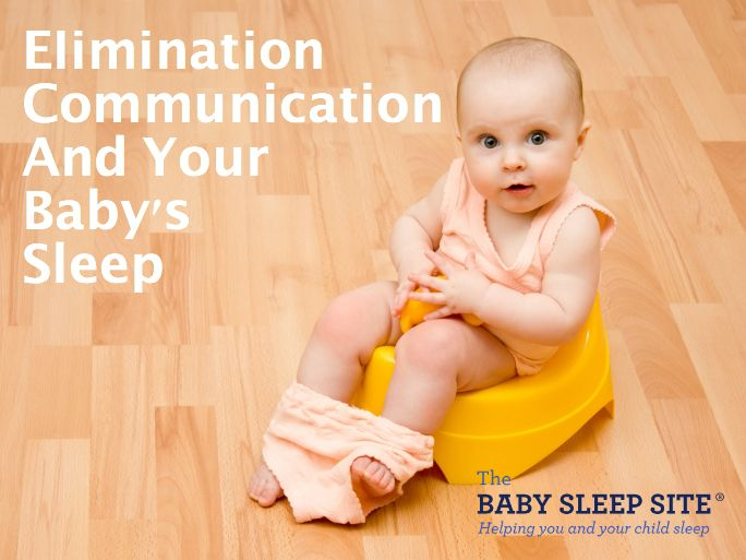 Elimination communication (otherwise known as baby potty training) can be great - but how does it affect your baby's sleep? Read on for info about elimination communication and its impact on nap and night sleep!