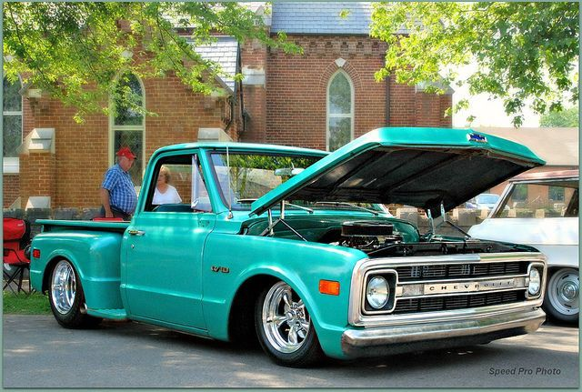 green c10 truck | 1970 chevrolet c10 stepside trq by speedprophoto on flickr cc