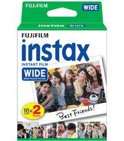 FujiFilm Instax Wide Film Twin Pack,