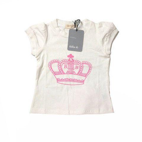 Princess tee. Perfect with pink princess tutu.