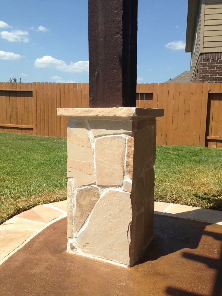 56 best images about bagley cedar on pinterest stone for How to build decorative columns
