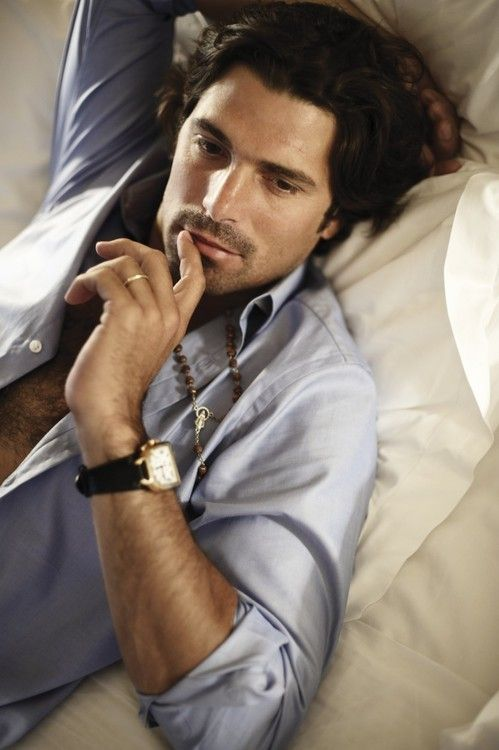 classandcomfort:    Nacho Figueras, polo athlete from Argentina, Vogue Hombres. (Side note, men are so much sexier with rings-when the ring comes from me)