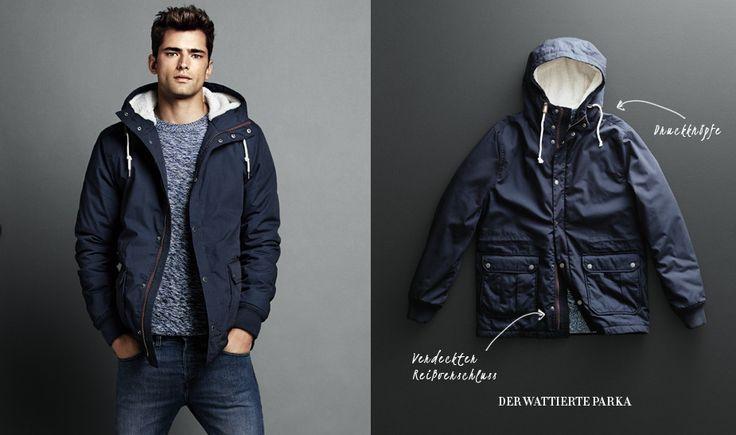 H&M Padded Parka | My Style | Pinterest | Parka and Men's fashion