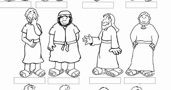 Printable Coloring Pages Of The 12 Disciples Awesome Jesus 12 Disciples Coloring Printable Coloring Pages Coloring Pages Inspirational Birthday Coloring Pages