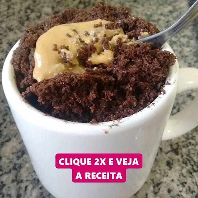 Bolo De Chocolate Fit De Caneca Creditos Deixacomanutri