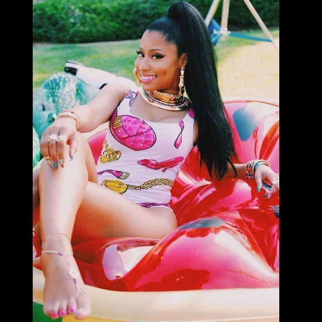 Minaj feet nicki Celebrities who