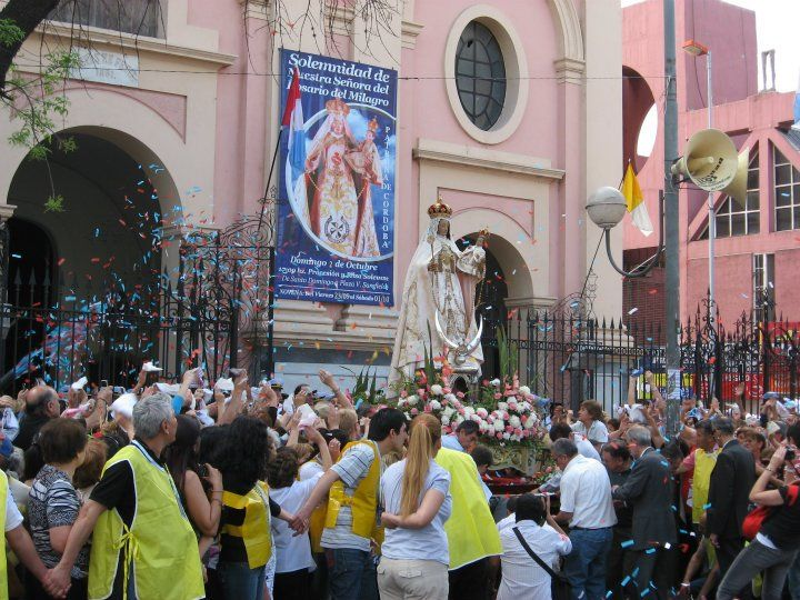 En CORDOBA la apertura del Jubileo será en Basílica Santo Domingo (Av. Vélez Sarsfield esq. Dean Funes) a las 18.00 hs.