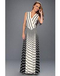 Vestido blanco rayas negras hermosa