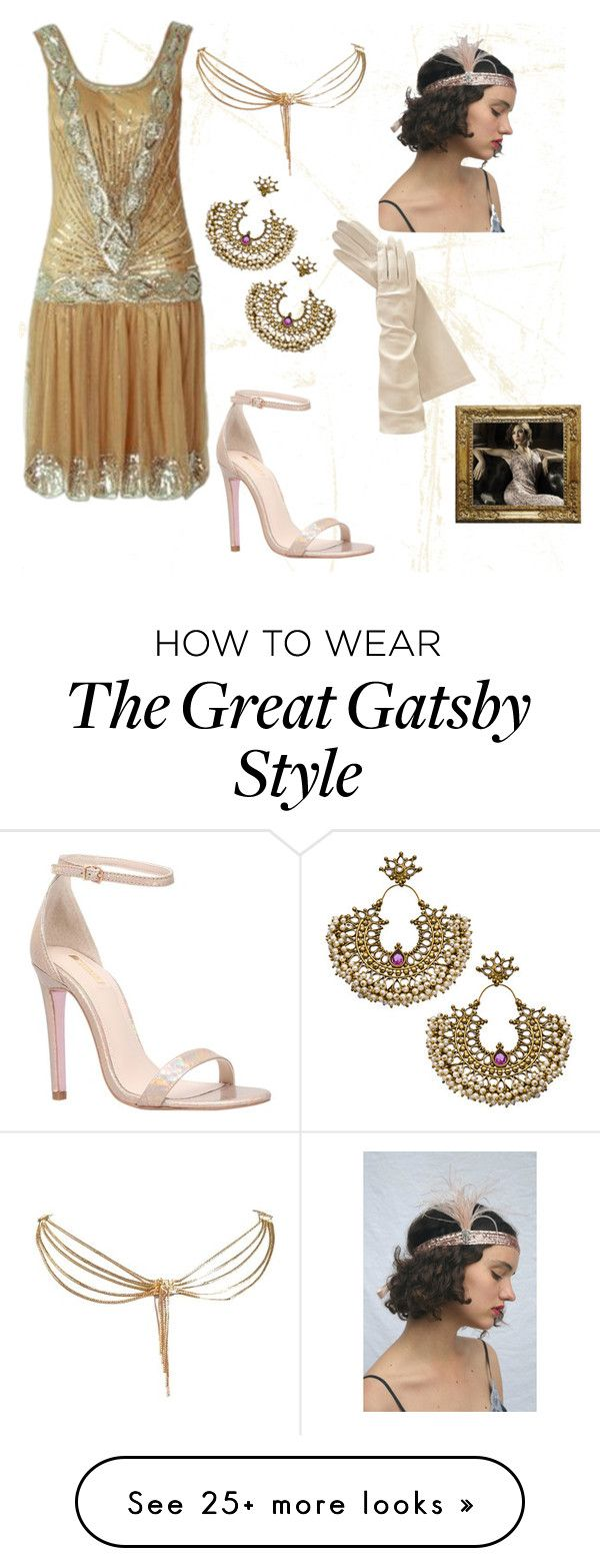 """Great Gatsby"" by oievie on Polyvore featuring Carvela and Christian Dior"