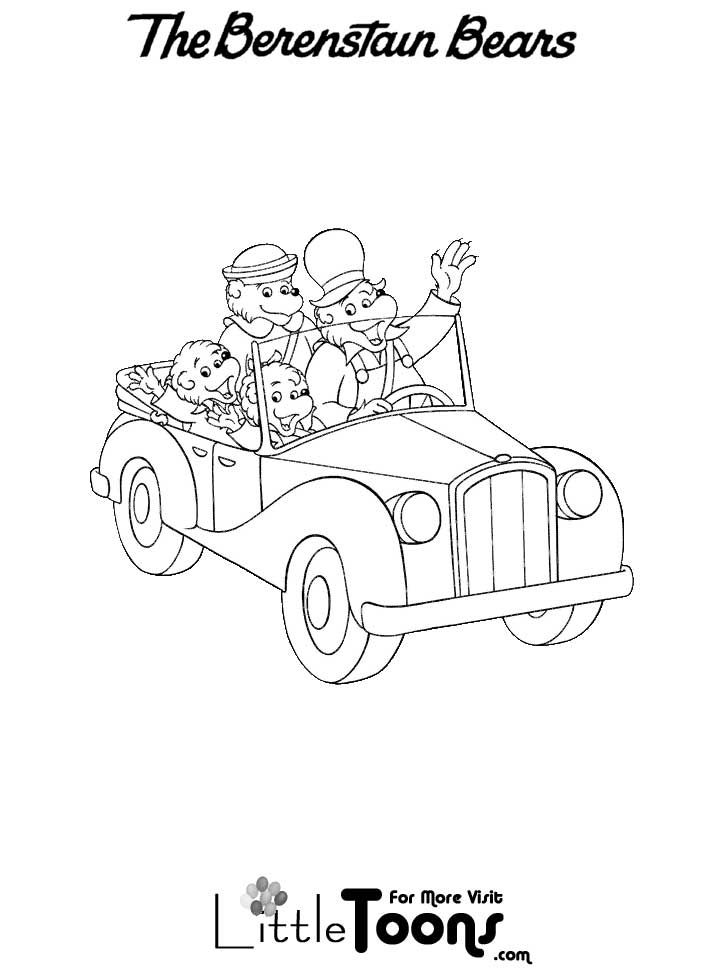 9 best Berenstain Bears images on Pinterest | Colouring pages ...