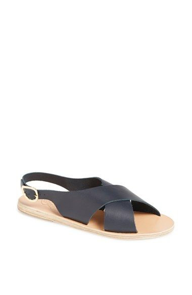 Ancient Greek Sandals 'Maria' Leather Slingback Sandal