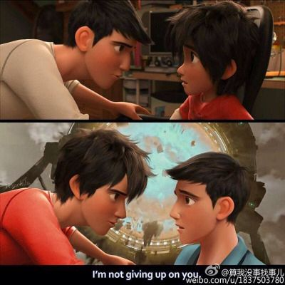 """Age swap! Hiro and Tadashi"" - Now THAT looks awesome. Plus it show what Hiro look like IF he was 18."