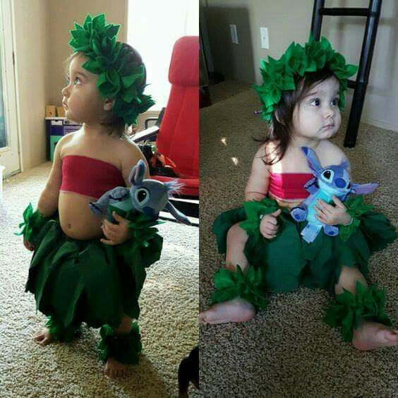 Lilo & Stitch costume Handmade Lilo and Stitch Costume! Found it here: http://tidd.ly/7d764130