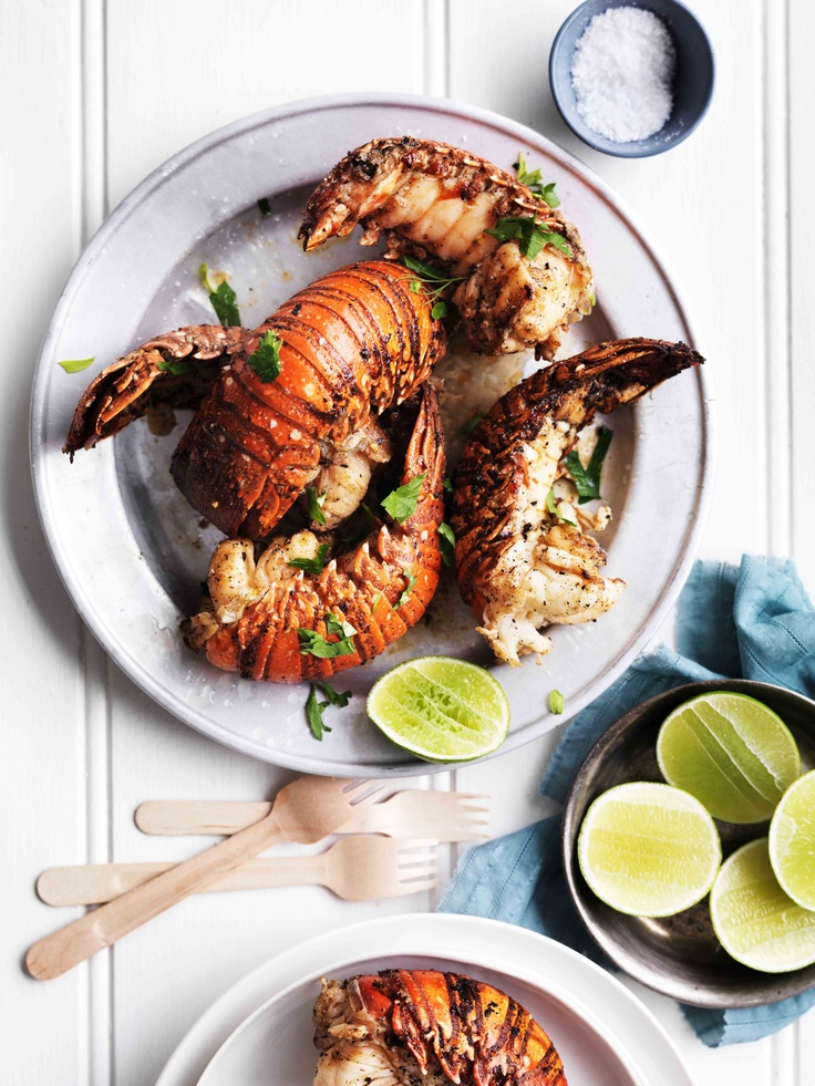 Lobster with Lime & Herbs from Modern Australian Food, RRP $49.95, available from newsagents, supermarkets & online at www.magshop.com.au Photographer: William Meppem