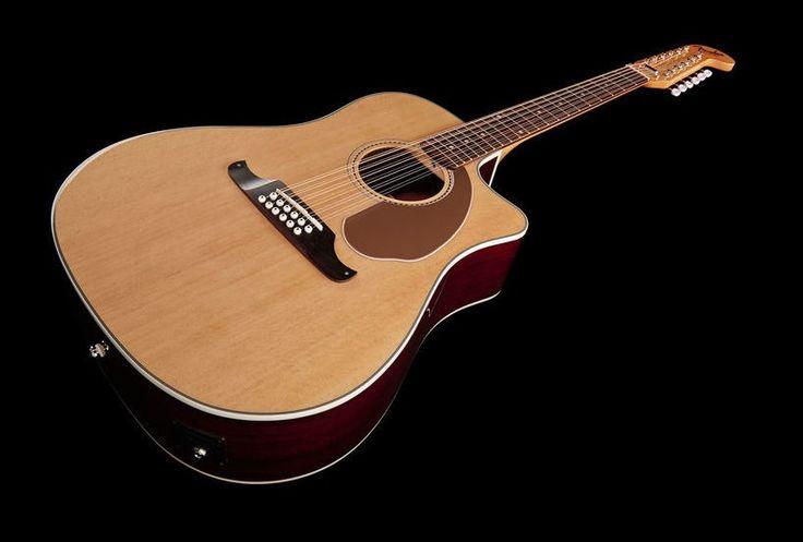 Fender Villager de 12 Cuerdas Electroacústica - Usada casi nueva!