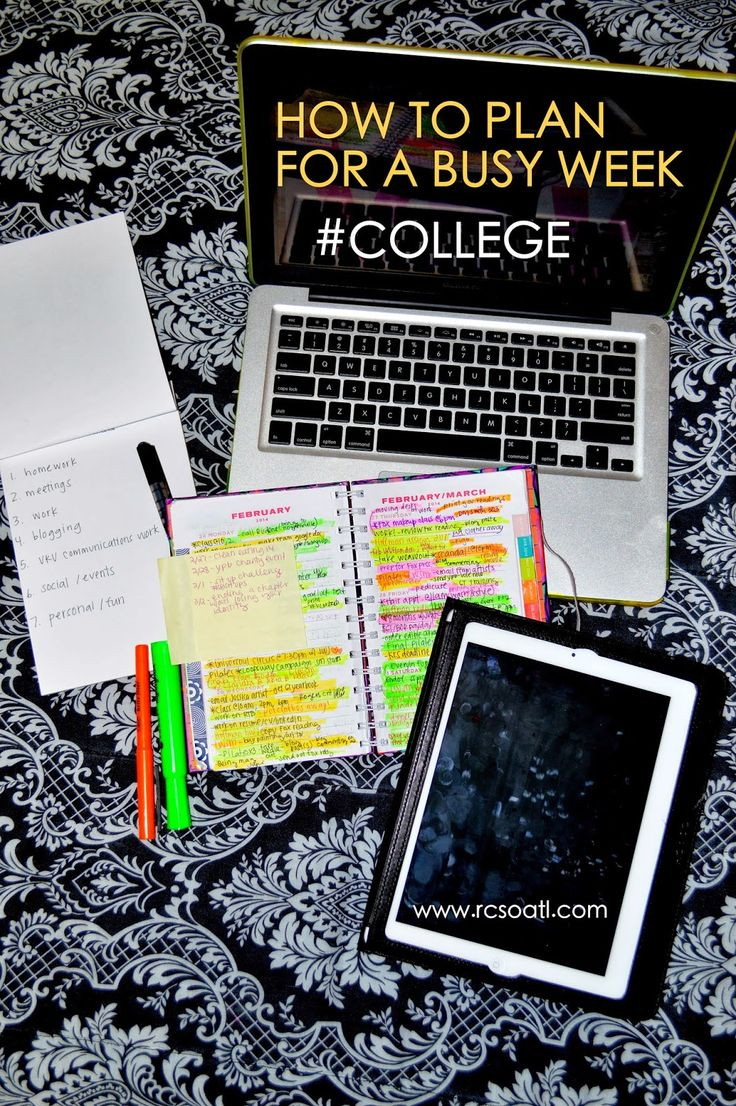organizational tools for college students