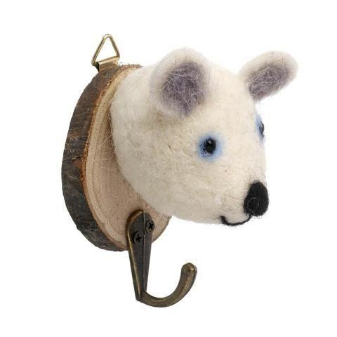 Polar bear coat hook
