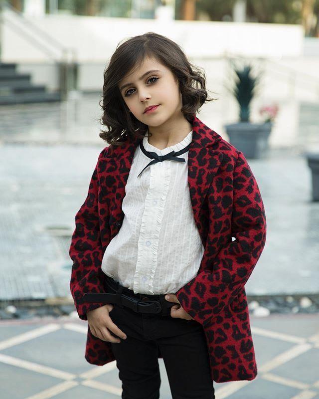 غاده السحيم Kids Dress Style Fashion