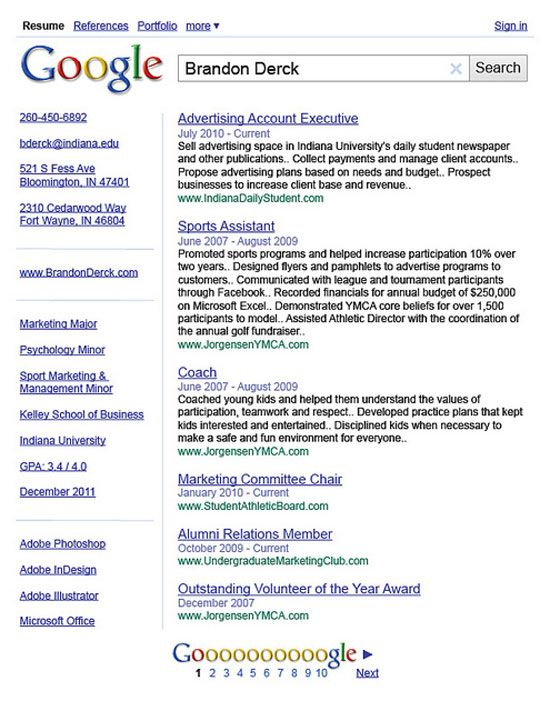 95 Best Design CV/Resumes Images On Pinterest | Resume Ideas .