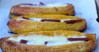 Receta de Cocina: Plátano al horno