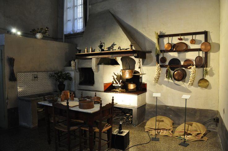 Keuken Palazzo Pfanner, Lucca, Italië, Toscane eigen foto