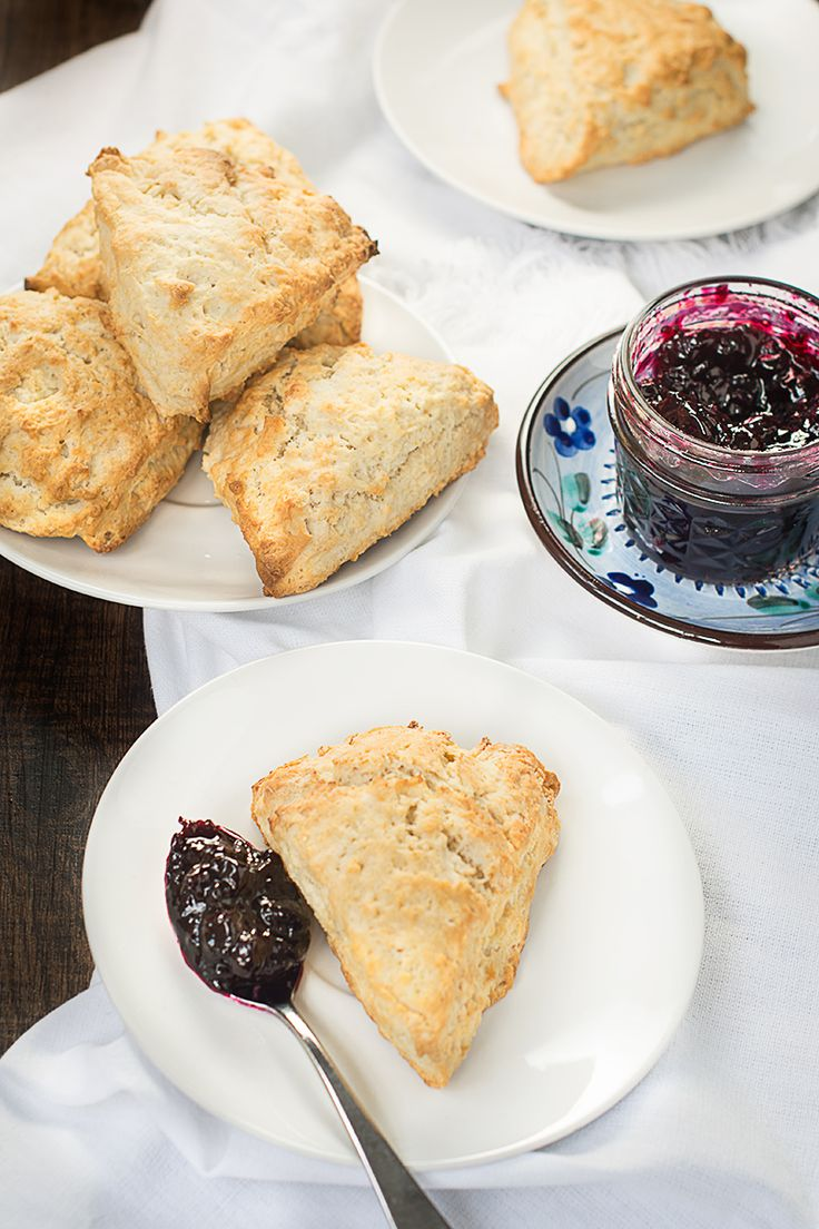 Switching to using coconut oil and coconut milk creates vegan scones that are…