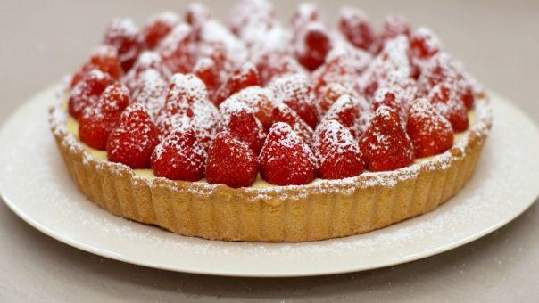 Eén - Dagelijkse kost - aardbeientaart met vanillepuddinghttp://www.een.be/programmas/dagelijkse-kost/recepten/aardbeientaart-met-vanillepudding