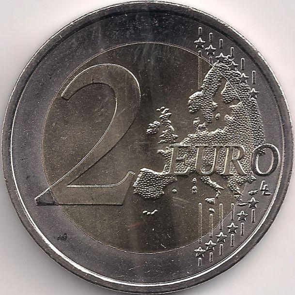 Wertseite: Münze-Europa-Mitteleuropa-Österreich-Euro-2.00-2015-EU-Flagge