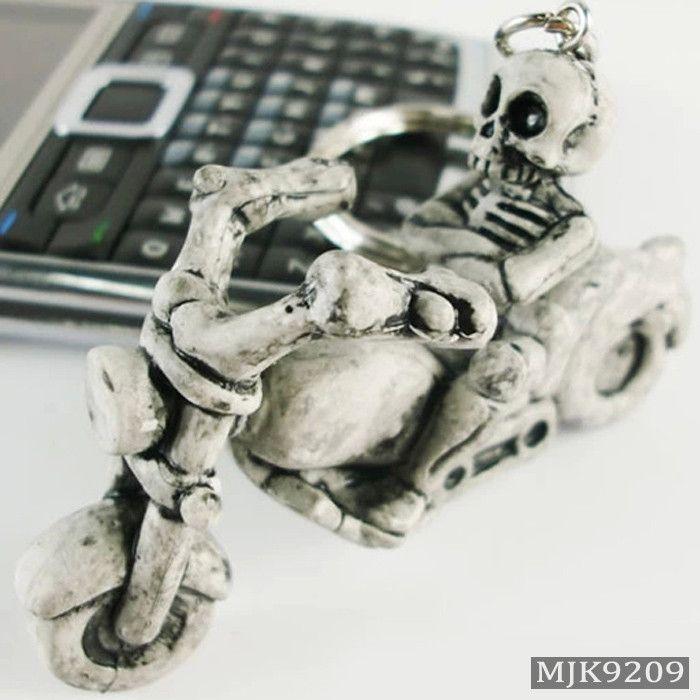 Novelty Skull Keychain 15 Options
