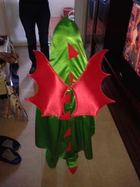 Disfraz dragon