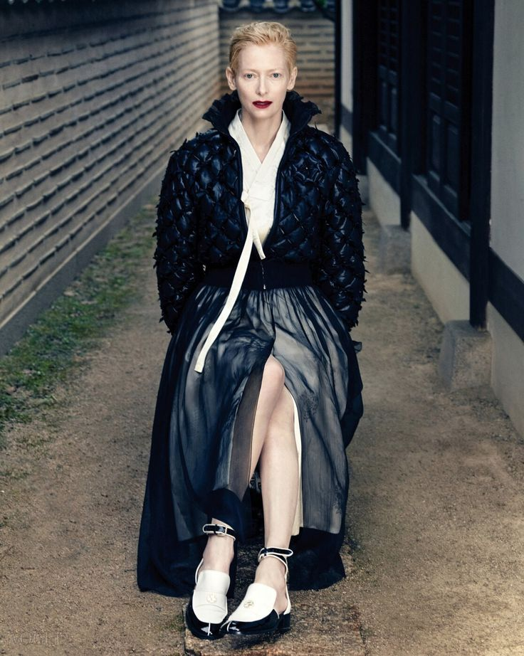 한복 hanbok, Korean traditional clothes #VOGUEkorea #TildaSwinton