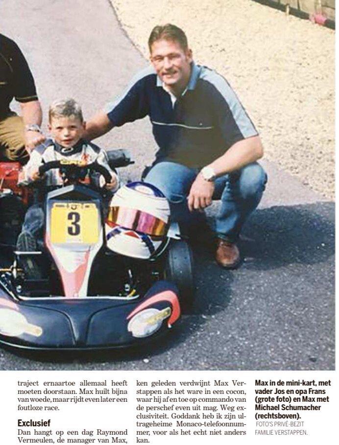 Max in the mini kart