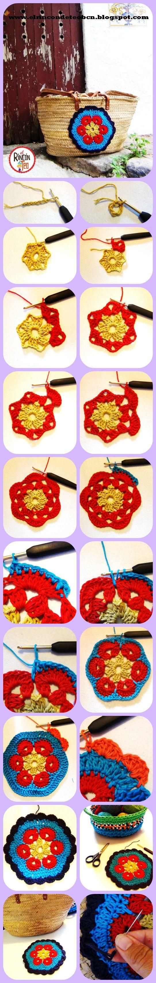 Buenos días!!! Hoy te regalo este tutorial DIY para que puedas lucir capazo este veranito!!! Visita nuestro blog!! http://goo.gl/whUlzo #ganchillo #ganxet #crochet #tutorialganchillo #tutorialcrochet #diy #diycapazo #fetama #hechoamano #handmade