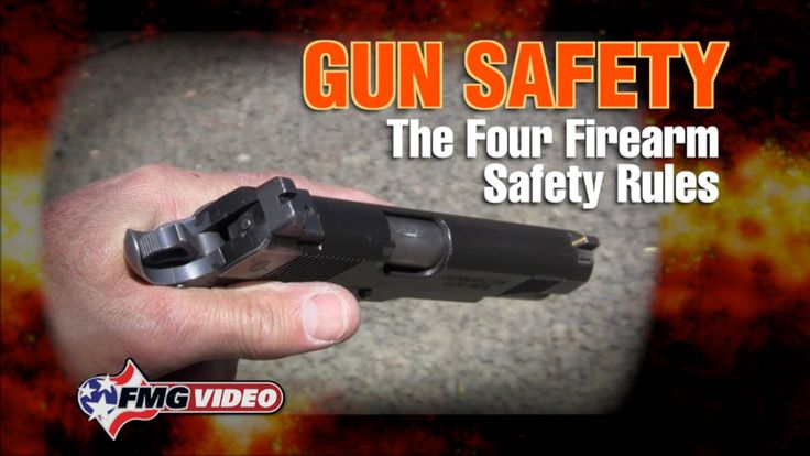Four Gun Safety Rules - Four Gun Safety Rules: FMG Contributing Editor Clint Smith provides a timely reminder on the importance of adhering to The Four Firearm Safety Rules. Click here for more: http://americanhandgunner.com/gun-safety-rules/