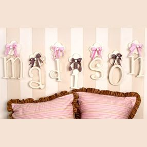Perfect hanging letters