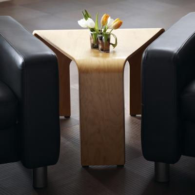 Ekornes Stressless Corner Table Teak Finish Reg $495 | EBay