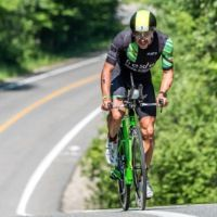 Lionel Sanders, aka the Stache, is going for another podium at the Ironman 70.3 World Championships.