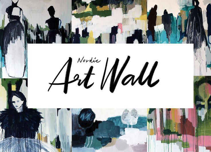 ny gallerist; Nordic art wall