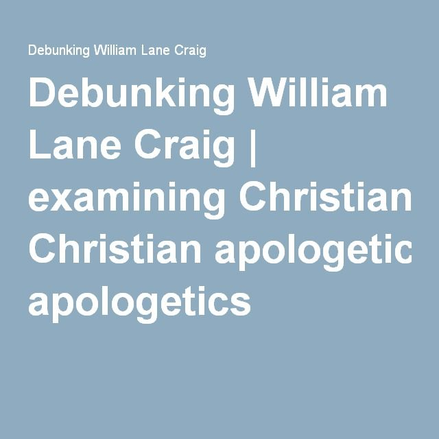 Christian apologetics essays