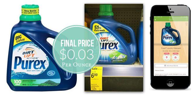 Purex Laundry Detergent, $4.87 at Walgreens, Reg. $11.99!
