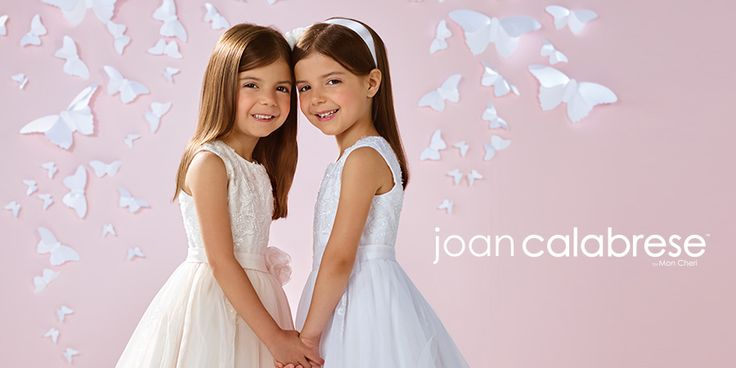 Down the aisle and beyond, Joan Calabrese for Mon Cheri little girl dresses are sure to be passed down to future generations. View the collection.