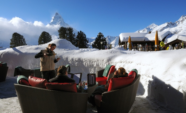SWITZERLAND  Riffelalp Resort 2222m - Hotel in Zermatt, facing the Matterhorn with silence, nature and warm hospitality.
