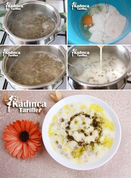 YEŞİL MERCİMEKLİ YOĞURT ÇORBASI TARİFİ http://kadincatarifler.com/yesil-mercimekli-yogurt-corbasi-tarifi