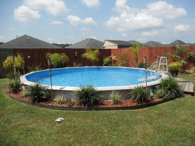 1000 id es sur le th me am nagement paysager autour de la for Belle piscine hors sol