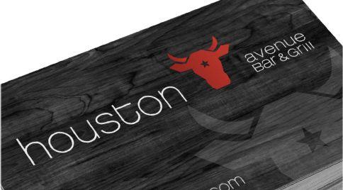 Houston avenue bar & grill - refonte de l'image de marque