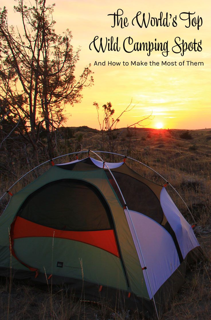 Wild camping tips. Wild camping spots in the UK. Wild camping in the Nordics. Wild camping in Patagonia. Wild camping around the world.
