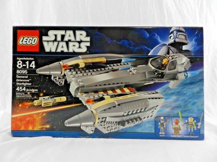 Lego Star Wars 8095 General Grievous Starfighter NEW in Box #LEGO