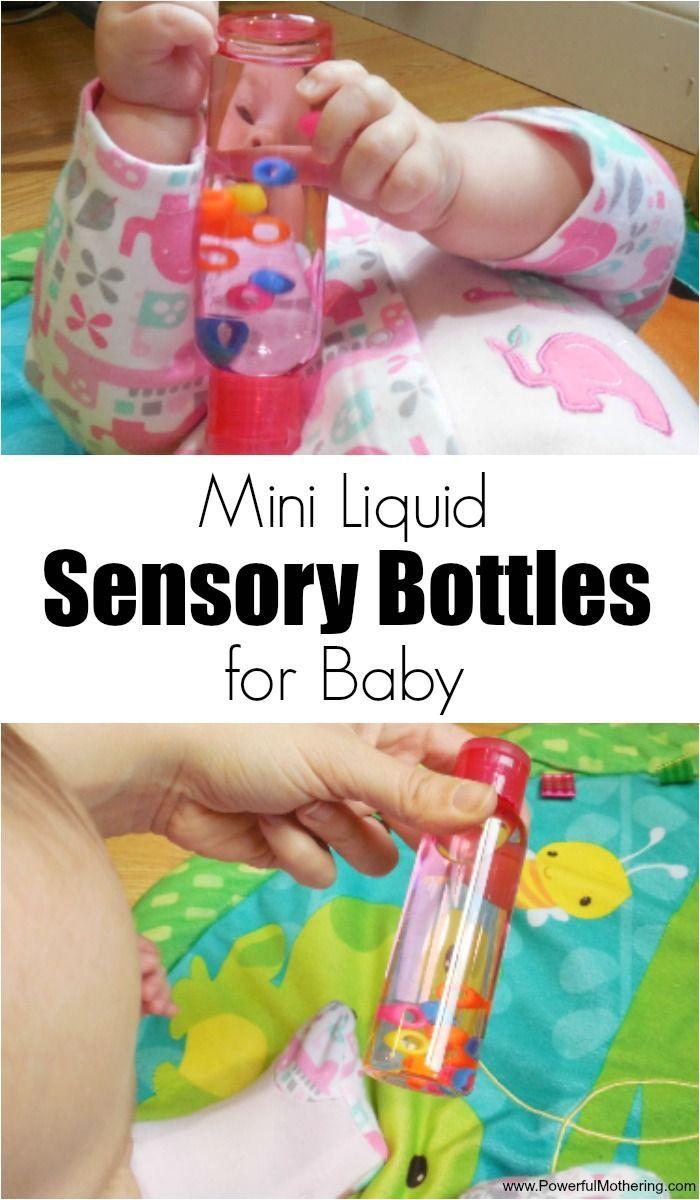 Mini Liquid Sensory Bottles for Baby