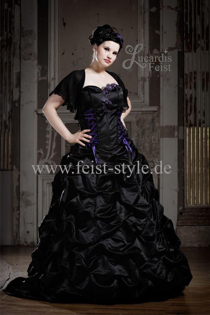 16 best Black Wedding Gowns / Schwarze Hochzeitskleider images on ...